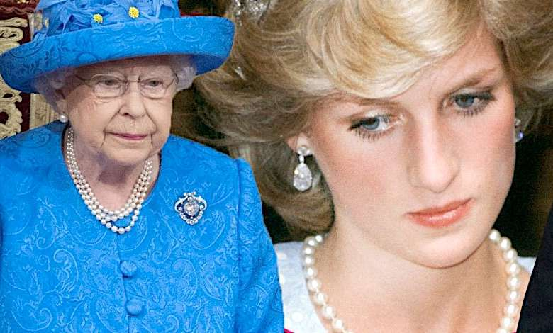 Księżna Diana, królowa Elżbieta II list