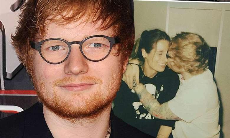 Ed Sheeran po ślubie zCherrySeaborn