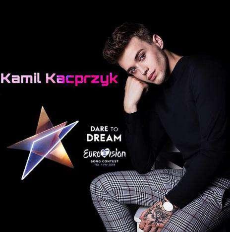 Kamil Kacprzyk zgłosił swoją piosenkę na Eurowizję 2019