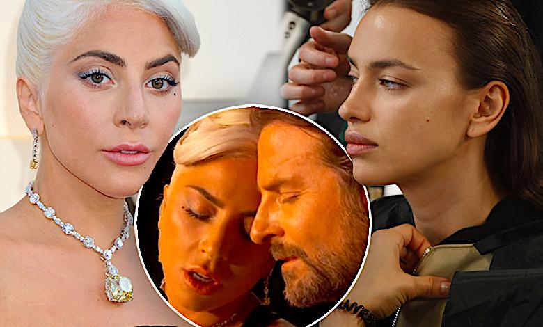 Lady Gaga, Irina Shayk, Bradley Cooper, romans