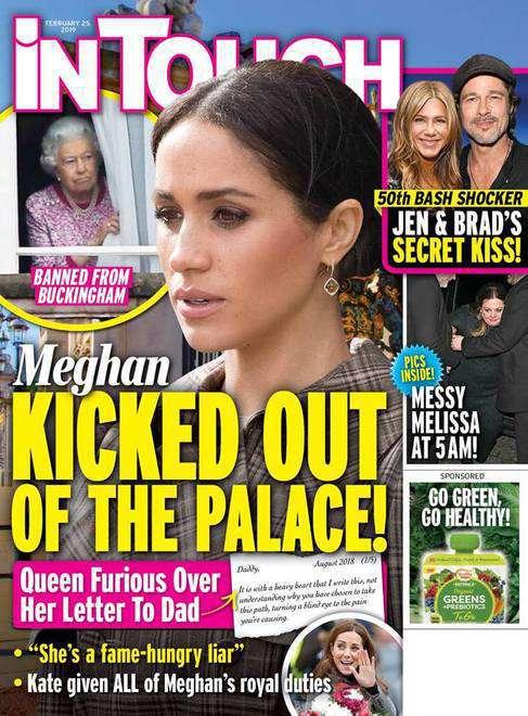 Meghan Markle wyrzucona z pałacu