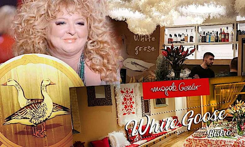 Magda Gessler White Goose Bistro Londyn menu, ceny