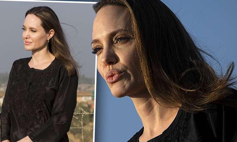 Angelina Jolie na konferencji w Bangladeszu