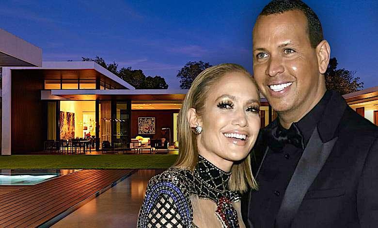 Jennifer Lopez i Alex Rodriguez jak mieszkają?