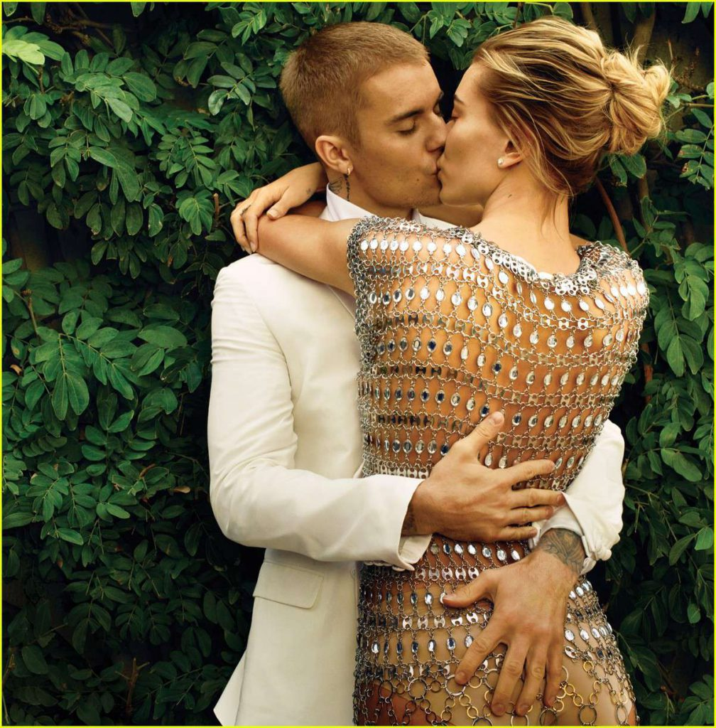 Justin Bieber i Hailey Baldwin - Vogue US