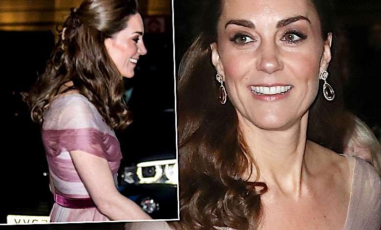 Księżna Kate w balowej sukni