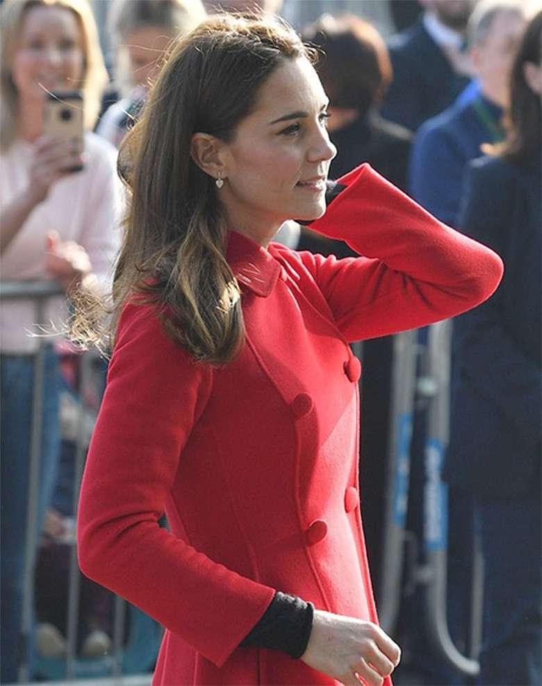Stylizacja księżnej Kate w Irlandii