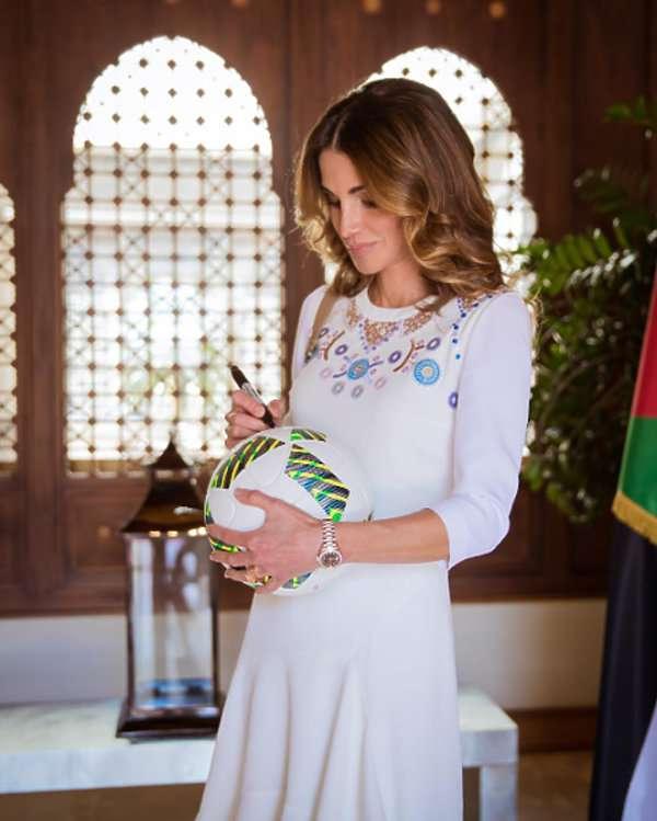 Królowa Jordanii - Rania Al Abdullahw
