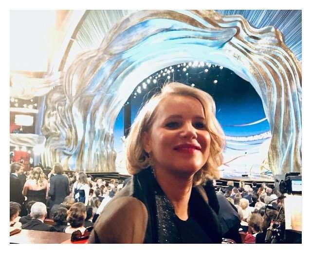 Joanna Kulig na rozdaniu Oscarów 2019