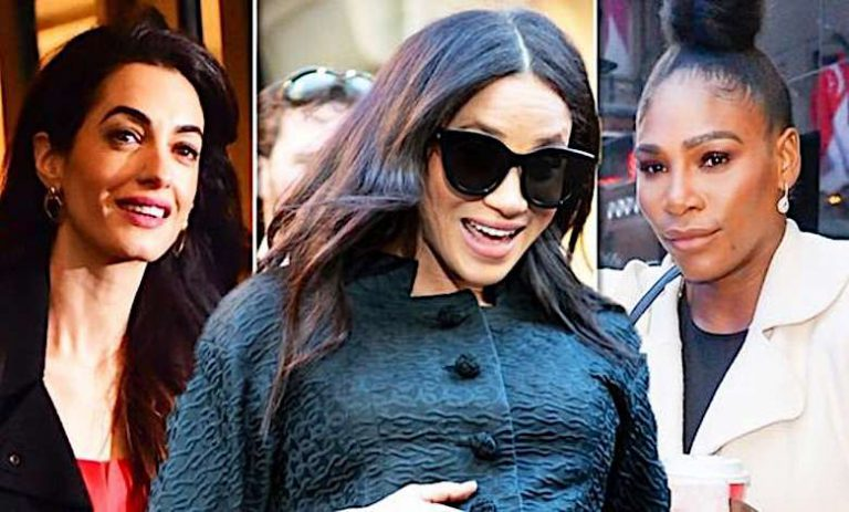 Meghan Markle, Serena Williams, Amal Clooney