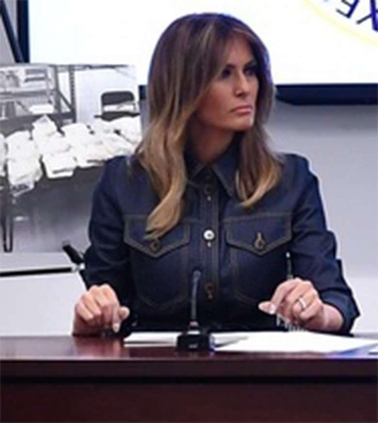 Melania Trump walczy z narkotykami w Waszyngtonie