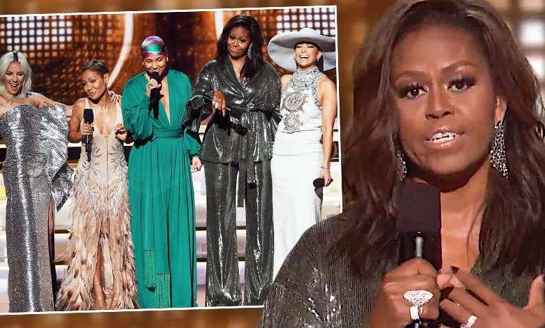 Grammy 2019: przemowa Michelle Obama