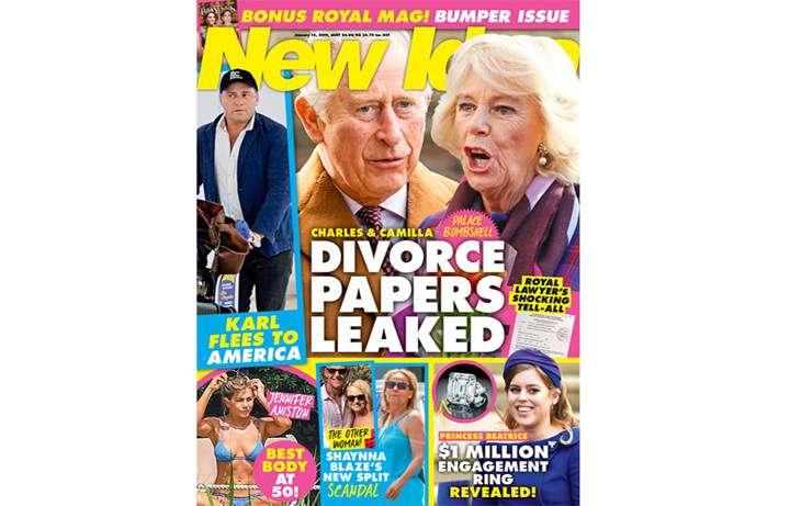 New Idea o rozwodzie księcia Karola i Camilli Parker-Bowles