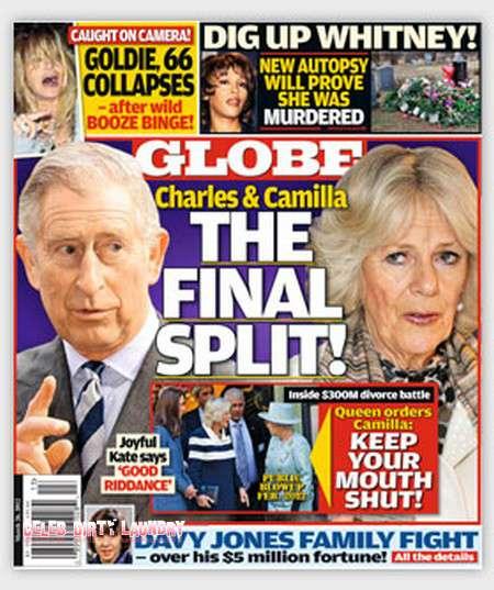 Rozwód księcia Karola i Camilli – Globe
