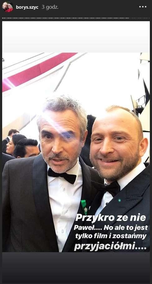 """Zdjęcie (10) Borys Szyc zrobił relację z Oscarów – internauci uznali, ze była najlepsza ze wszystkich! Aktor opowiedział o swoich wrażeniach w TVN: """"Zapomniałem, że mam 40 lat i chyba troszkę stałem się nastolatkiem"""" [WIDEO]"""