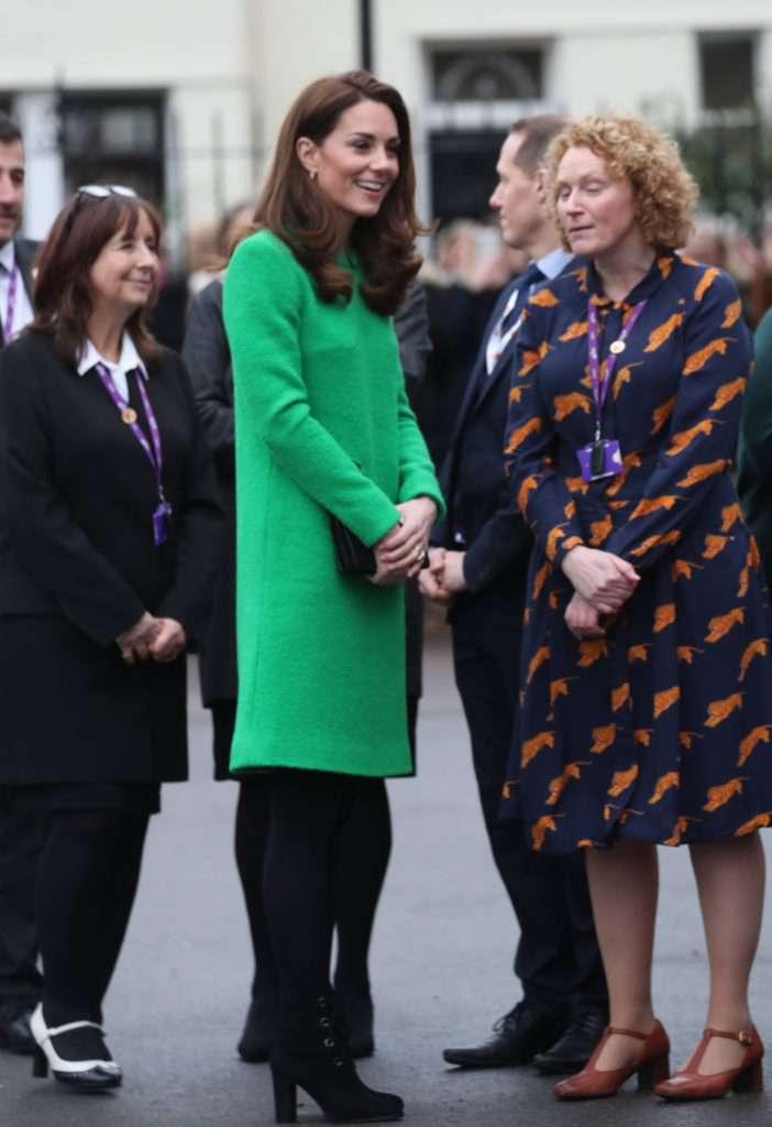 Księżna Kate z wizytą w szkole podstawowej