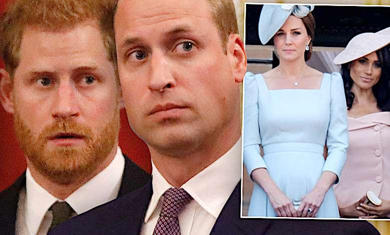 Książę William, książę Harry, Meghan Markle, księżna Kate, konflikt w rodzinie królewskiej