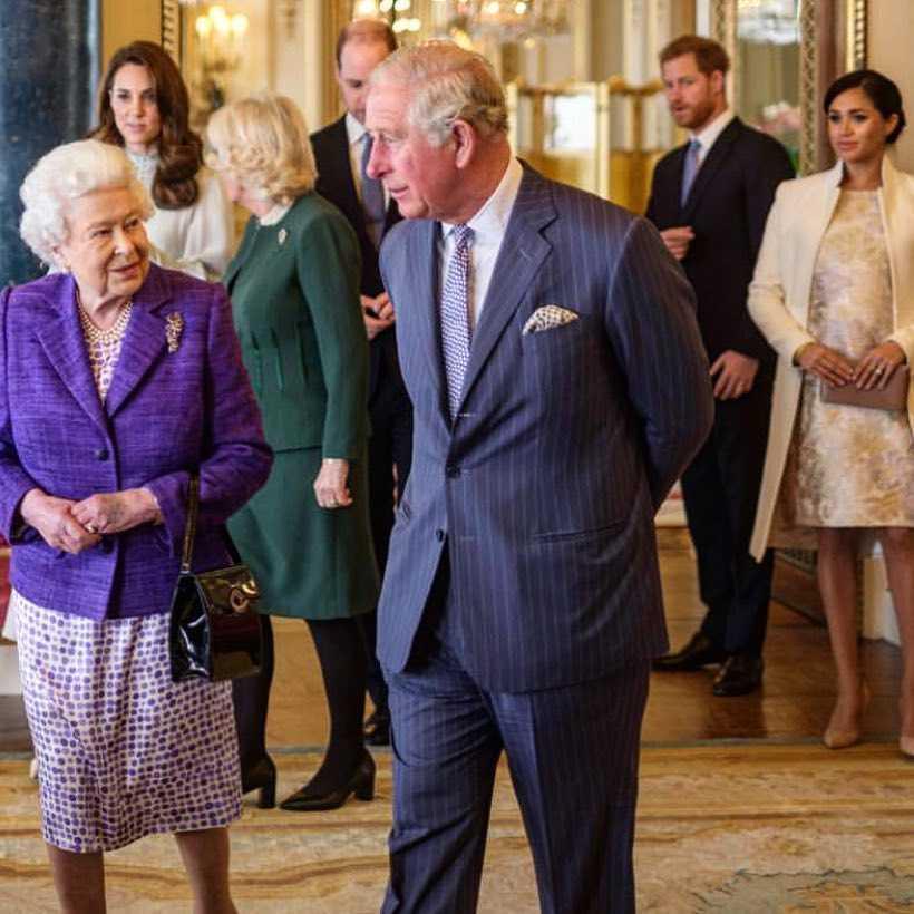 Księżna Kate zignorowała ciężarną Meghan Markle w obecności królowej