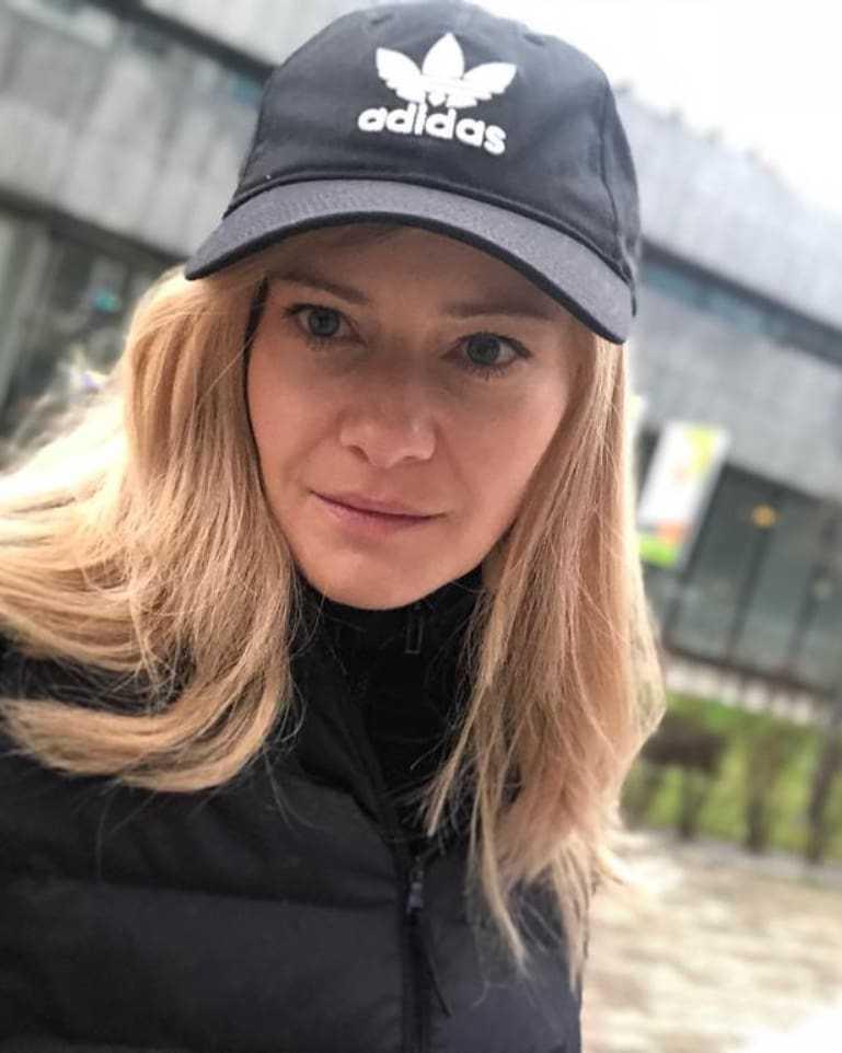 Małgorzata Kożuchowska w nowym filmie w długich włosach