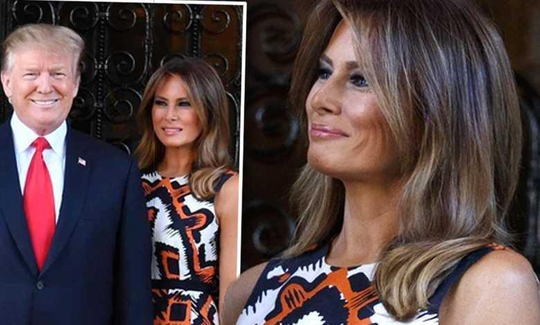 Pstrokata Melania Trump wymienia czułe spojrzenia z Donaldem. Zachowywali się jak nastolatki!