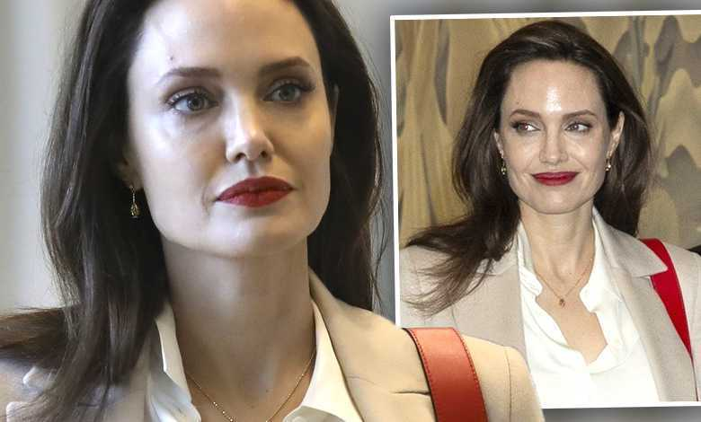 Angelina Jolie na spotkaniu ONZ