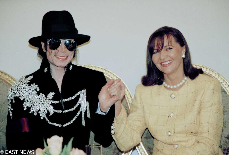 Jolanta Kwaśniewska i Michael Jackson