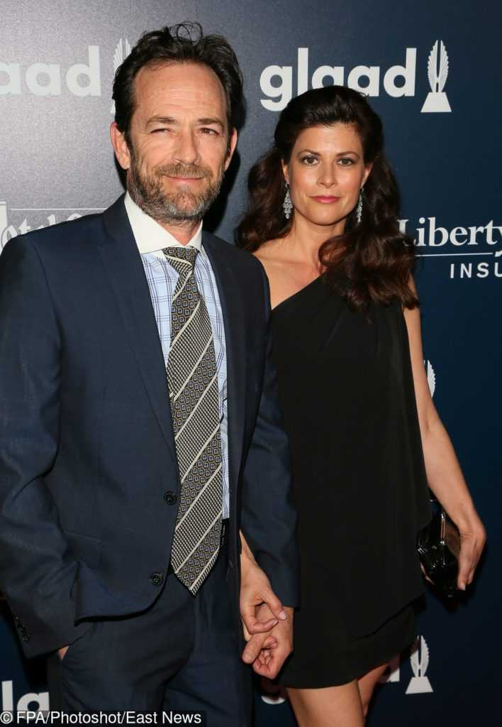 Luke Perry i Wendy Madison Bauer