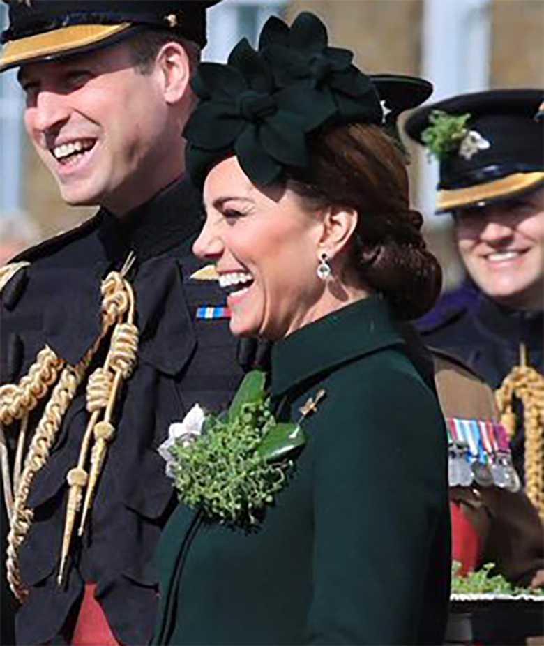 Księżna Kate i książę William na obchodach Dnia Świętego Patryka