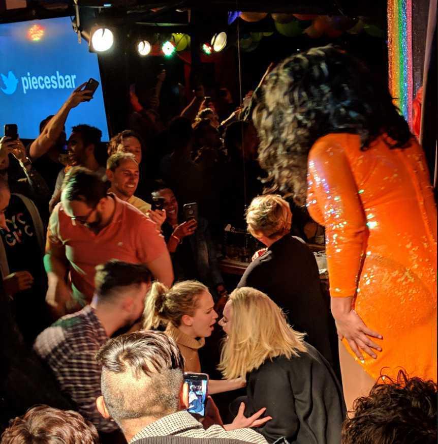 Adele i Jennifer Lawrence w gejowskim klubie w Nowym Jorku