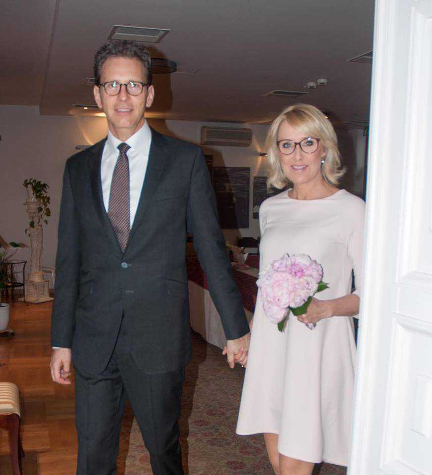 Agata Młynarska i Przemysław Schmidt świętują 5 rocznice swojego ślubu