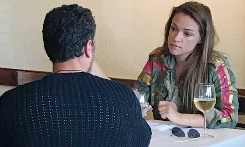 Alicja Bachleda-Curuś przyłapana na winie z przystojniakiem! Specjalnie dla niego przyleciała do Polski