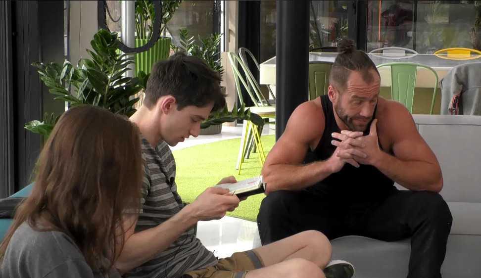 Łukasz i Daniel rozmawiają o homseksualizmie (screen: Player.pl)