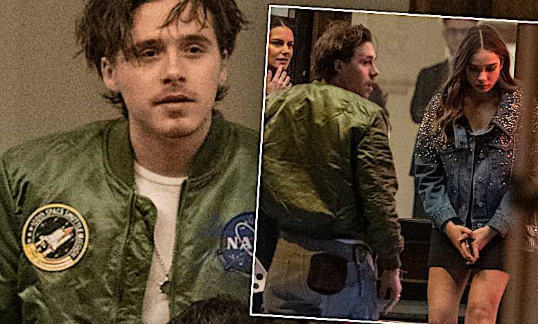 Brooklyn Beckham i Hana Cross urodziny