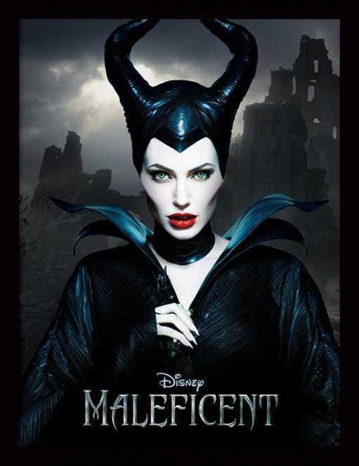 Czarownica z Angeliną Jolie – plakat promujący pierwszą część filmu