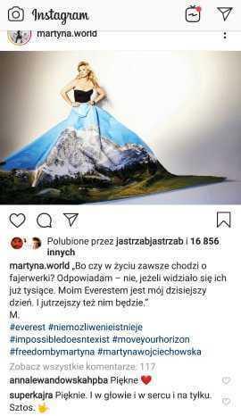 Kajra komentuje kreację Martyny Wojciechowskiej