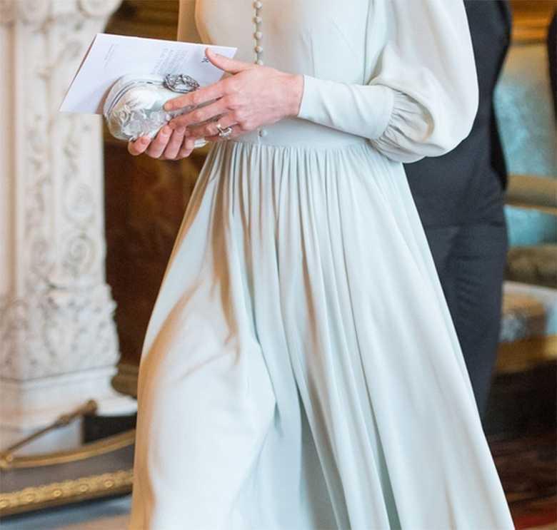 Księżna Kate na przyjęciu w pałacu Buckingham