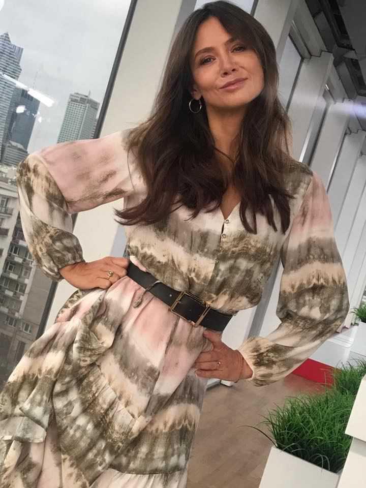 Kinga Rusin w sukience Reserved