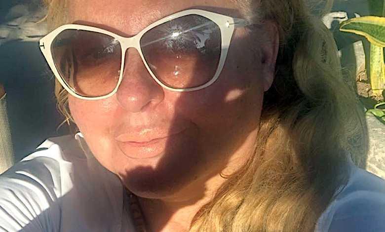 Magda Gessler na wakacjach