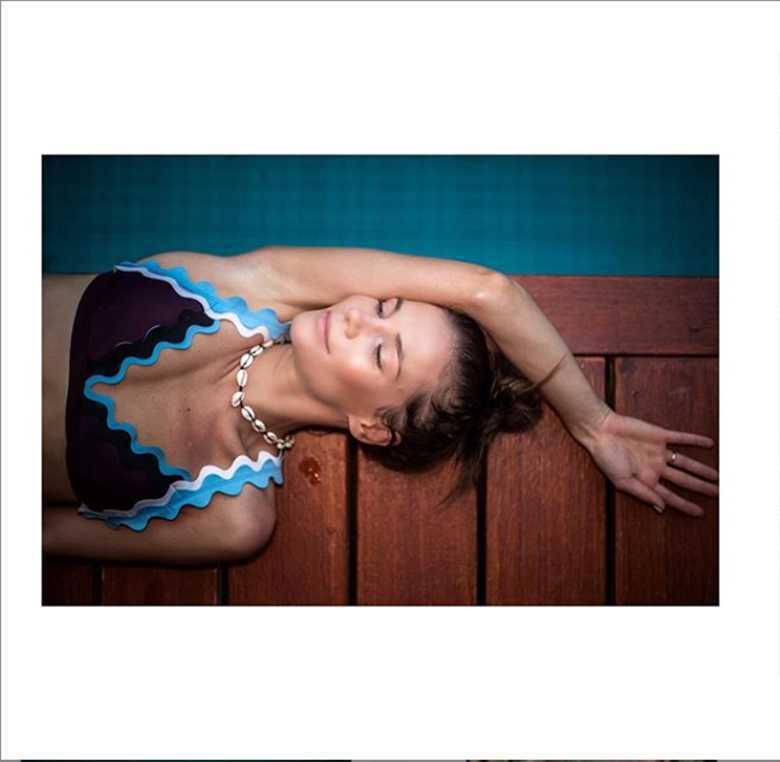 Zdjęcie (5) Maja Bohosiewicz pod grubą warstwą makijażu ukrywała trądzik. Teraz pokazała, jak naprawdę wyglądała jej twarz