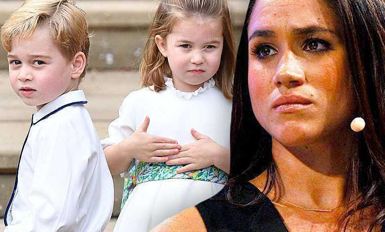 Meghan Markle i dzieci księżnej Kate
