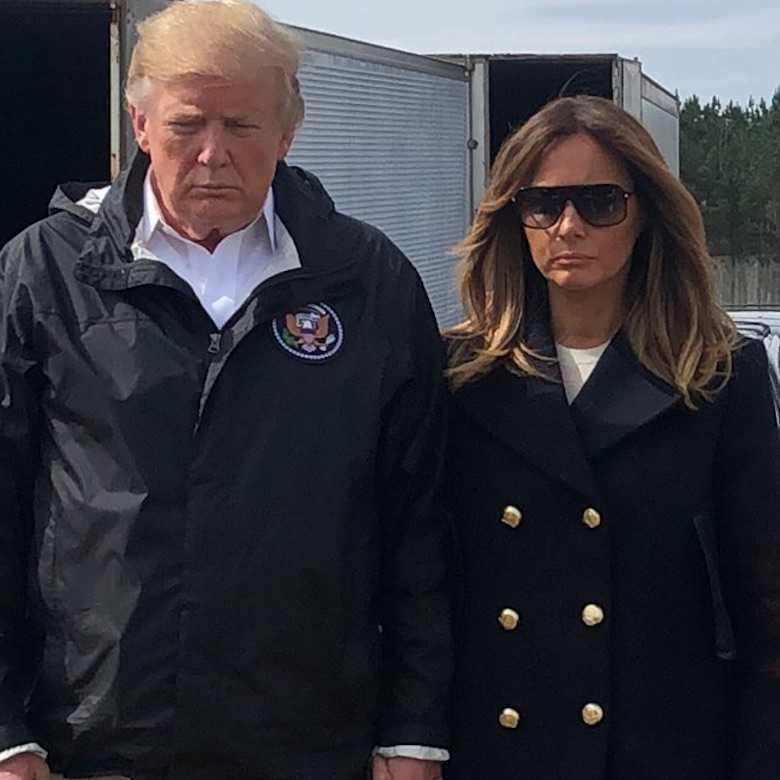 Czy Melania Trump ma sobowtóra?