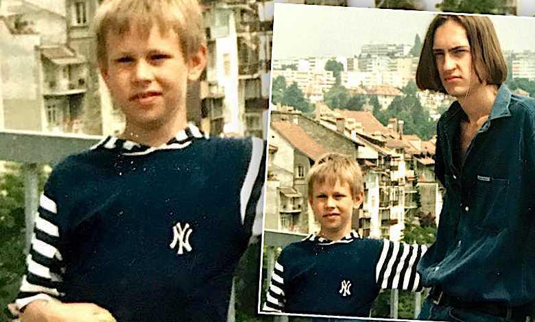 Sebastian Prokop w dzieciństwie