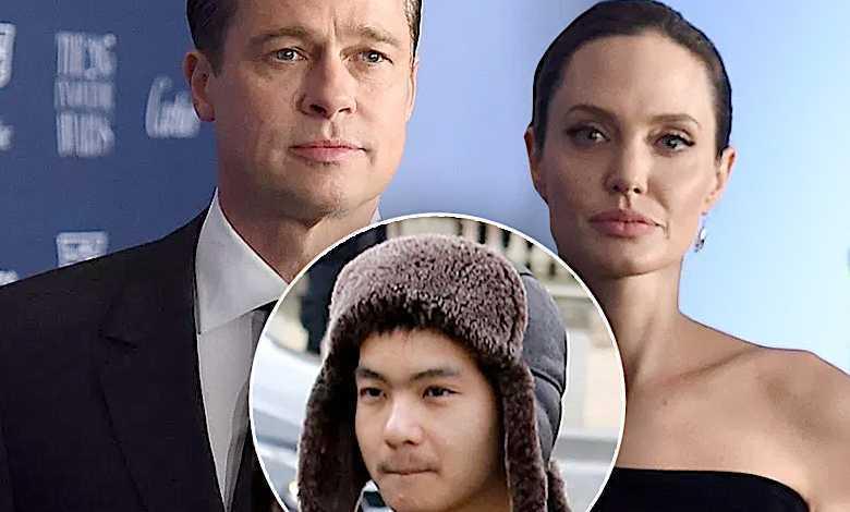 Brad Pitt, Angelina Jolie, Maddox syn
