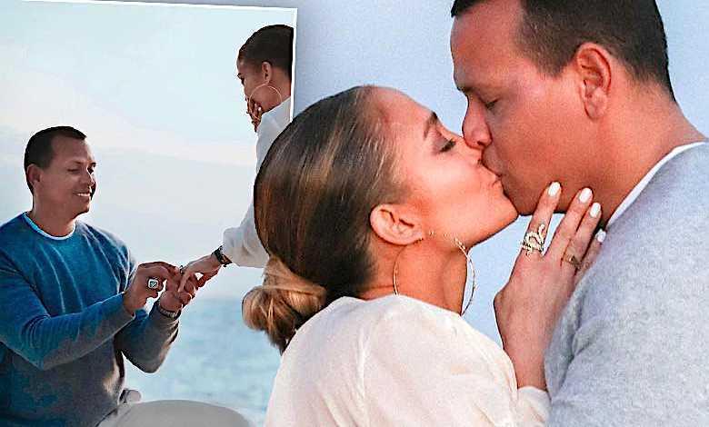 Jennifer Lopez i Alex Rodriguez zaręczyny zdjęcia