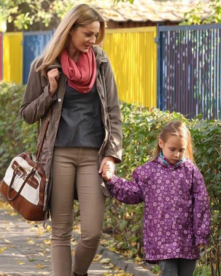 Małgporzata Socha ze swoją serialową córką z Przyjaciółek - Hanią