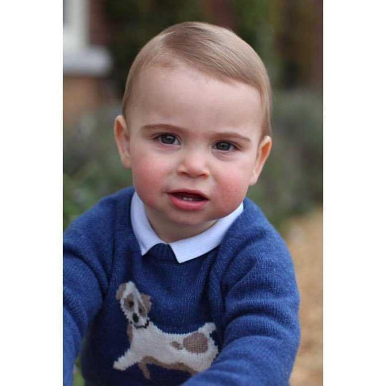 Książę Louis skończył roczek