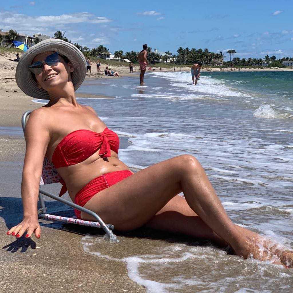 Olga Bończyk w bikini na Florydzie