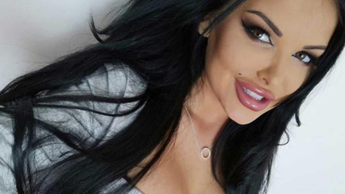 Esmeralda Godlewska bez makijażu
