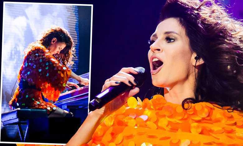Sylwia Grzeszczak na urodzinowym koncercie w Ergo Arenie