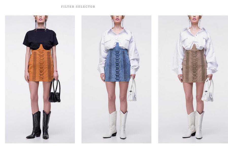 Spódnica Epuzer w trzech kolorach
